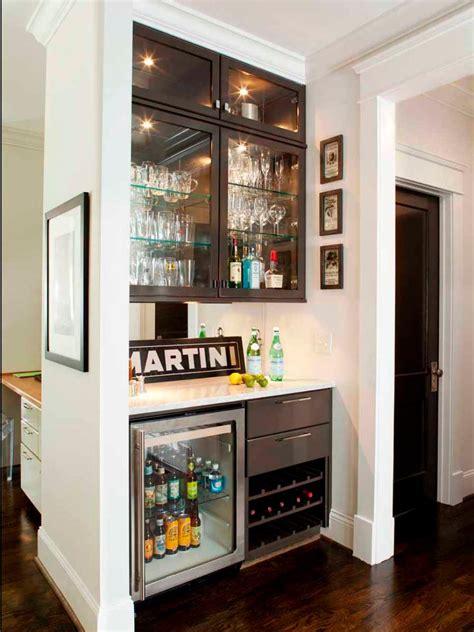 Small Bar by 15 Stylish Small Home Bar Ideas Hgtv