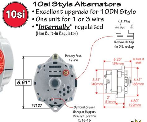 externally regulated delco alternator wiring diagram