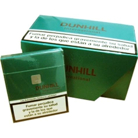 Dunhill International Menthol 20 dunhill international box cigarettes u s cigarettes store