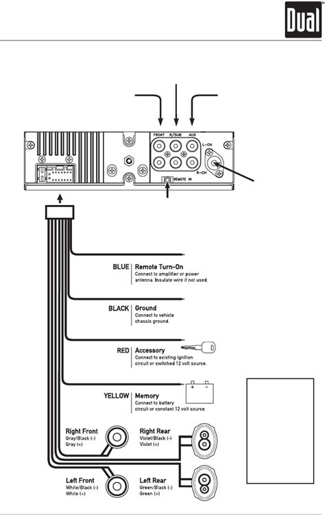 dual wiring diagram car stereo images wiring diagram