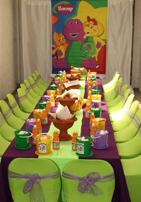 barney birthday decorations 17 best images about addisyns 2nd bday on