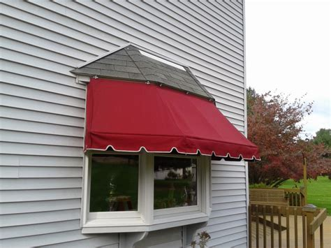 Bay window awning kreider s canvas service inc