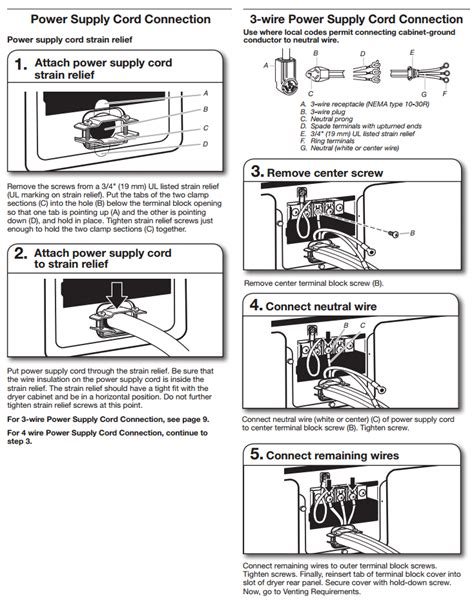 3 prong dryer wiring diagram 240v 3 get free image