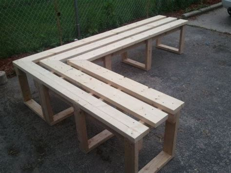 corner patio bench plans outdoor corner bench woodworking projects plans