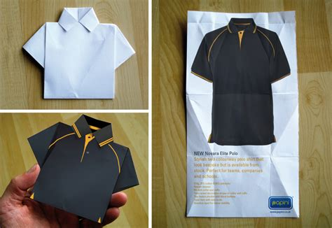Origami Polo Shirt - origami polo shirt 28 images with paper folding and