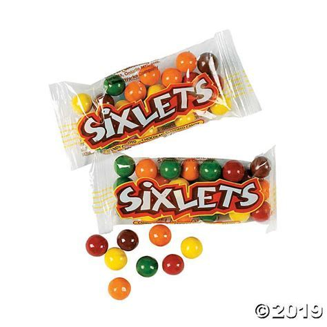 Sixlets® Chocolate Candy Packs