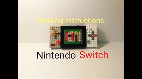 lego nes tutorial how to make a lego nintendo switch easy tutorial youtube