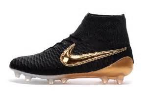 nike soccer shoes nike magista obra fg 2016 2017 black gold football boots
