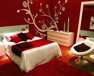 red bedroom decor create romantic and tranquil feels with red bedroom