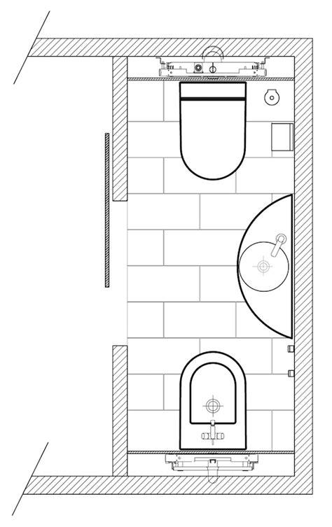 Plan Salle De Bain Wc 3630 by Exemple De Plans De Salles De Bain Pour Am 233 Nagement Des Wc