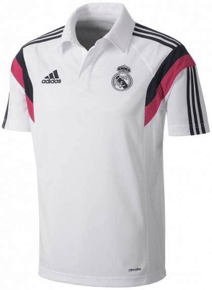 Polo Shirt Tshirt Kaos Kerah Adidas Real Madrid Keren 4 polo shirt real madrid white 2014 2015 big match jersey toko grosir dan eceran jersey