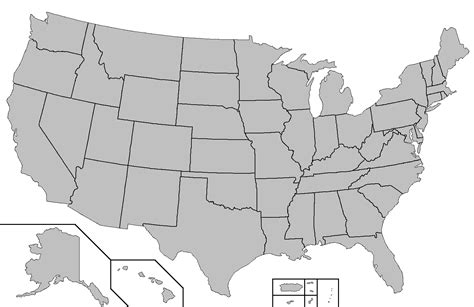 Blank Map by File Blank Map Of The United States Png Wikipedia