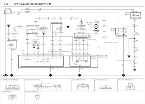 air conditioner wiring diagram 2002 kia spectra 2002 kia