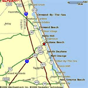 central florida east coast map