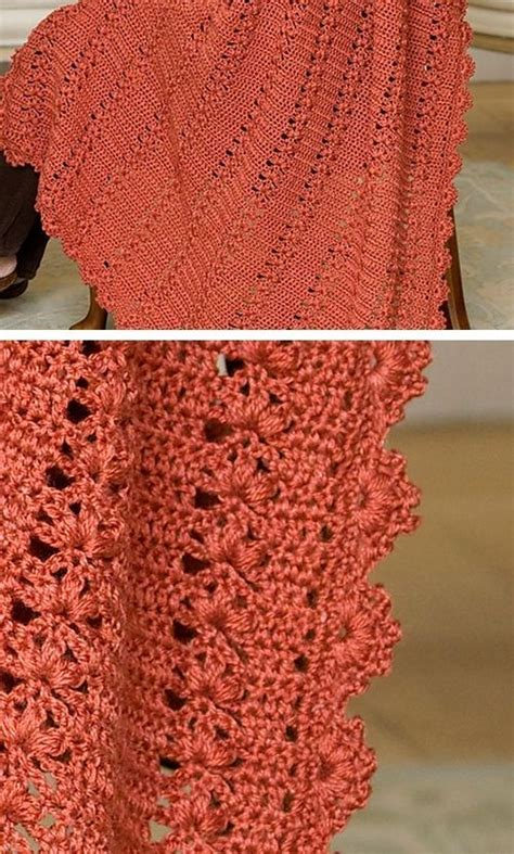red pattern pinterest trefoil throw free pattern from red heart yarns