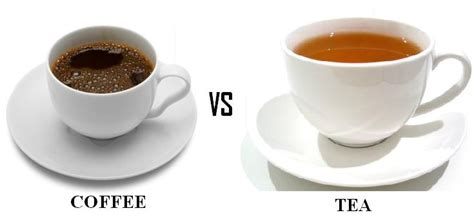 Coffee Green Tea coffee or tea which benefits your more