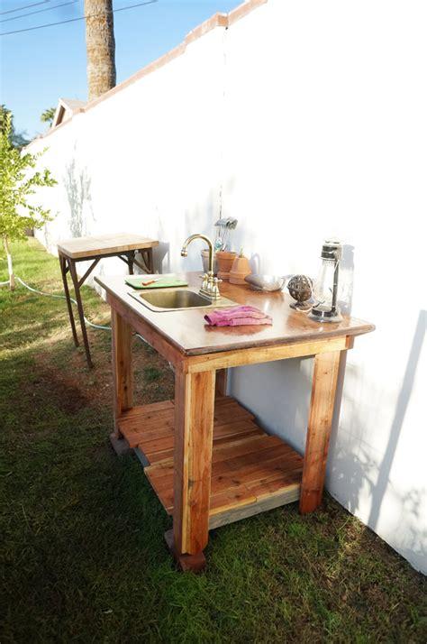 outdoor garden veggie sink diana elizabeth