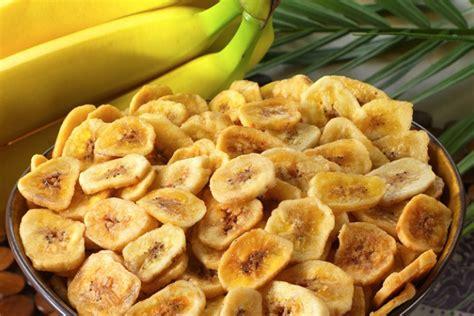 resep keripik pisang renyah  gurih  wascom