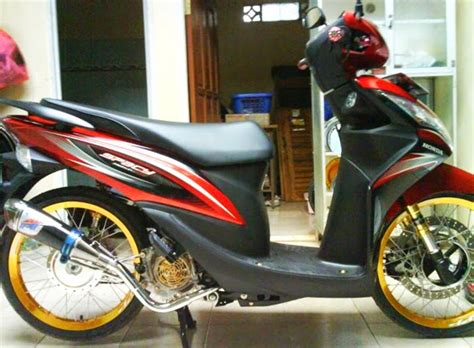 Modification Motor Spacy 3 konsep modifikasi honda spacy
