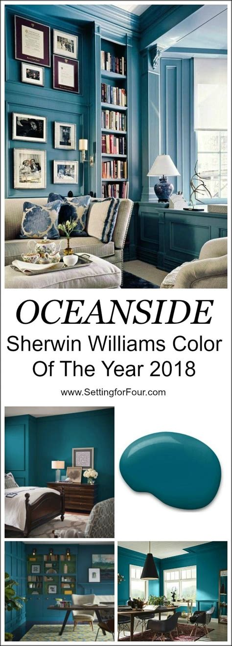 sherwin williams paint of the year sherwin williams oceanside color of the year 2018