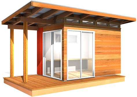 modern shed kit    coastal design