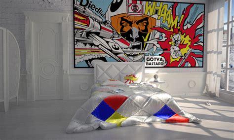 pop art bedroom popart interior bedroom by bergie81 on deviantart