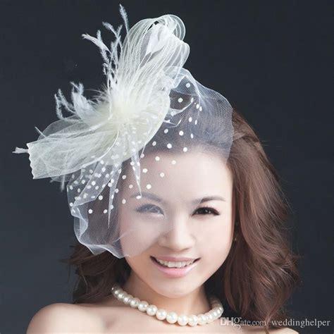vintage wedding hair fascinators vintage wedding bridal hat white pillbox church birdcage