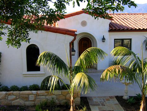 santa barbara home remodels santa barbara spanish single level small santa barbara spanish home designs