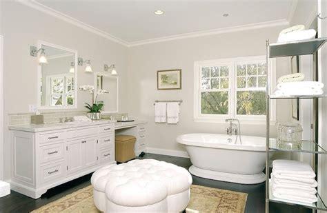 bathroom ottoman white tufted ottoman traditional bathroom core