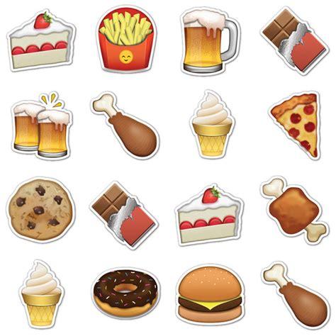 emoji food junk food emojis by emojistickers com fab com