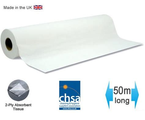 massage couch roll massage couch bed roll 20 quot wide x 50m long recycled