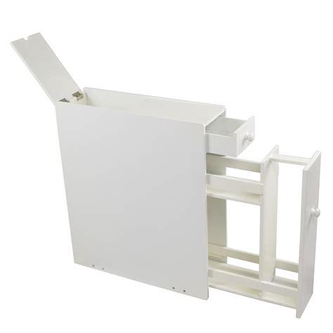 White Wood Bathroom Floor Cabinet by Proman Products Bathroom Floor Cabinet Wood In