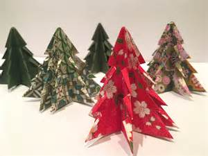 Origami For Christmas Decorations - a diy christmas how to make origami christmas decorations