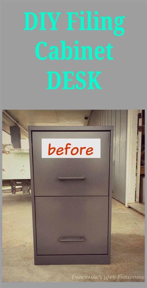 Diy Filing Cabinet Desk Filing Cabinet Desk Filing File Cabinet Desk Diy