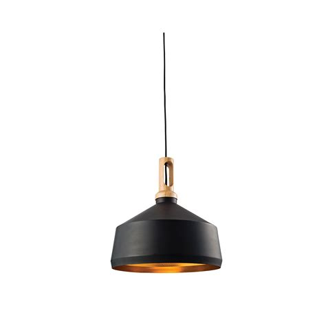 Black Pendant Light Endon Garcia Modern Ceiling Pendant Light In Black Finish 61347 Lighting From The Home