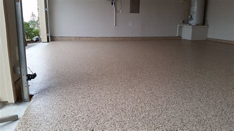 full flake polyaspartic garage floor coating system