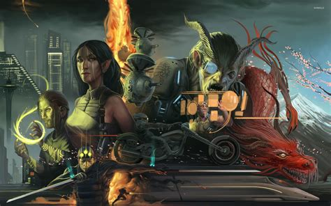 shadowrun returns wallpaper  wallpapersafari