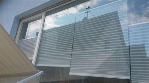Sichtschutz Fenster Plissee by Die Wohnzimmerfront Als Sichtschutz Heimtextilien