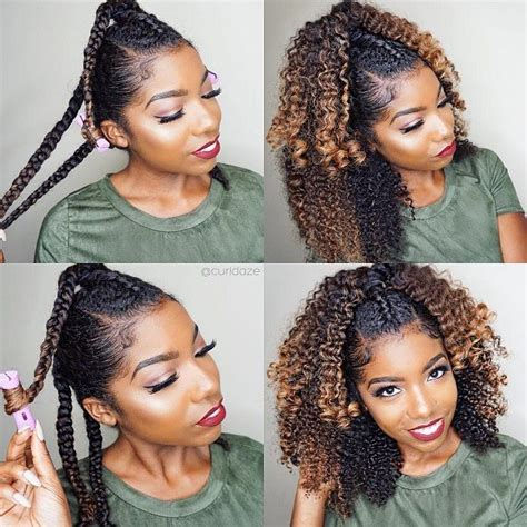 black plats on hair hairstyles top 25 best natural hairstyles ideas on pinterest simple natural hairstyles hairstyles for