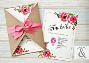 tendencias 2018 invitaciones boda kraft blanco color estudio posidonia tarjeta de 15 floral chic tarjetas de 15