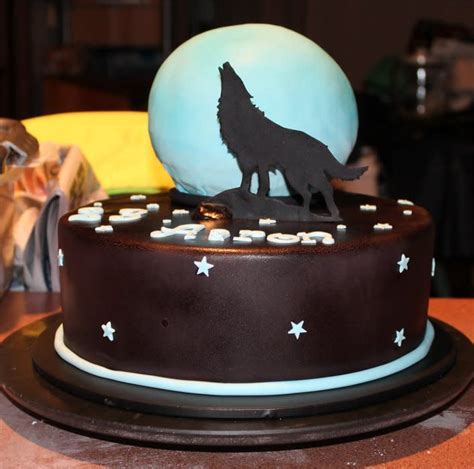 Auto Wolf Ohg by Howling Wolf Cake Cake By Kelliej75 Cakesdecor