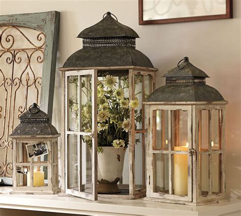 potted plants in lanterns house decorators collection