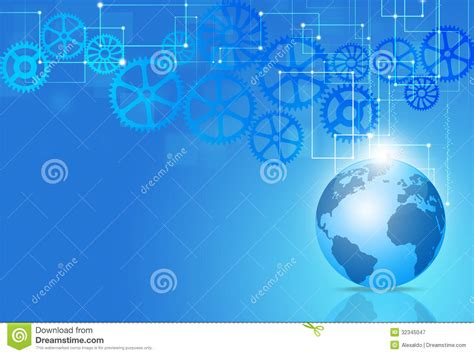 imagenes libres tecnologia fondo azul de la tecnolog 237 a del negocio stock de