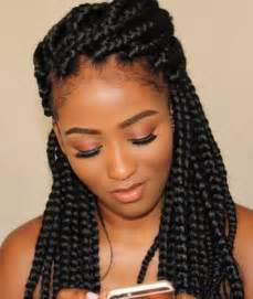 9 year hair braided witb weave 25 best ideas about thick box braids on pinterest