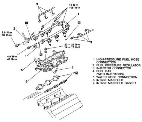 Injector Asli Mitsubishi Galant V6 24 Limited repair guides engine mechanical components intake