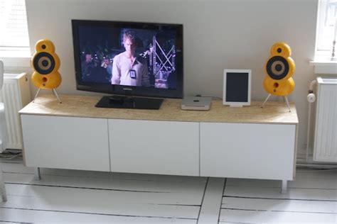 besta tv stand hack hack of ikea besta to make modern media console for the