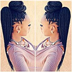 braided pin up hairstyle for black top 25 best box braids styling ideas on pinterest box