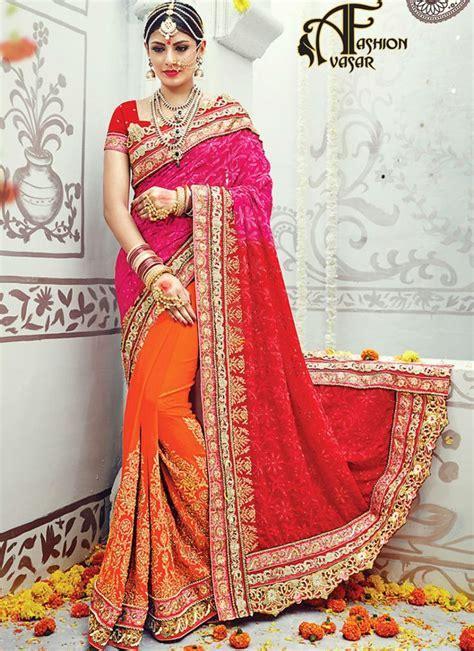 25  best ideas about Bridal Sarees Online on Pinterest