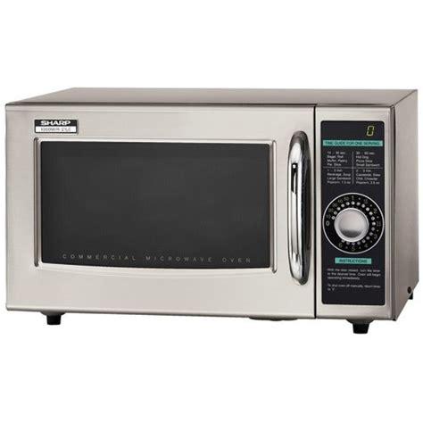 Microwave Sharp Second Microwave Stainless Steel Sharp Medium Duty Commercial Microwave 1000 Watt