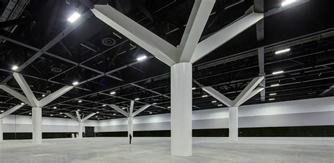 ceilings and lighting for painting exhibition hall interior event toolkit